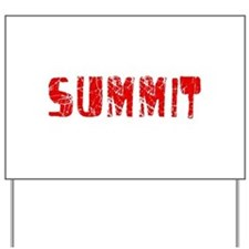Summit Faded (Red) Yard Sign