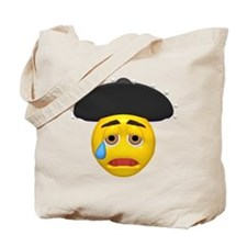 Mexican Hat Crying Face Tote Bag