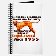 Ridgeback Security Journal