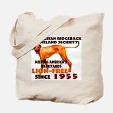 Ridgeback Security Tote Bag
