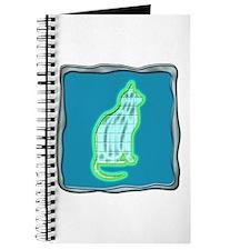 framed Cat Journal