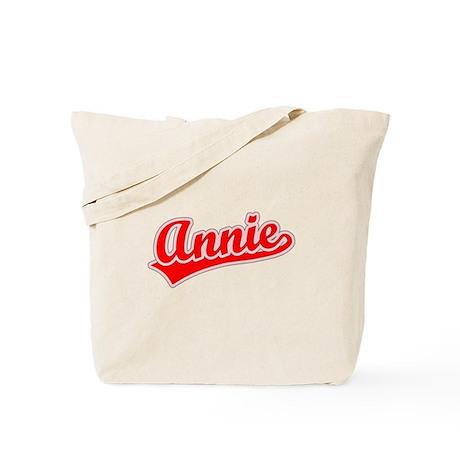 Retro Annie (Red) Tote Bag