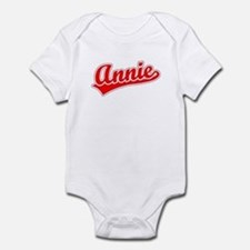Retro Annie (Red) Infant Bodysuit