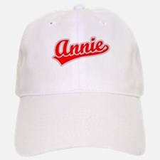 Retro Annie (Red) Baseball Baseball Cap