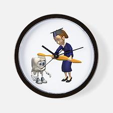 Dental Hygiene Graduation Wall Clock