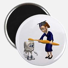 """Dental Hygiene Graduation 2.25"""" Magnet (10 pack)"""