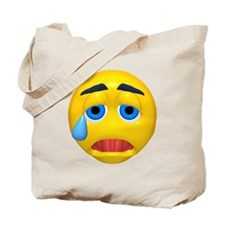 Cry Baby Face Tote Bag