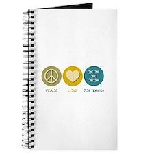 Peace Love Dog Training Journal