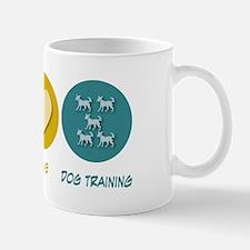 Peace Love Dog Training Small Small Mug