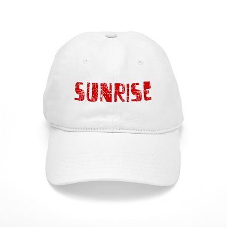 Sunrise Faded (Red) Cap
