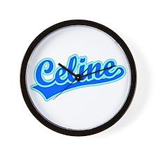 Retro Celine (Blue) Wall Clock