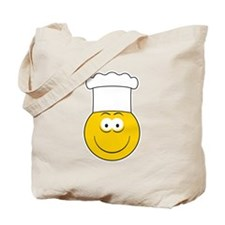 Chef/Cook Smiley Face Tote Bag