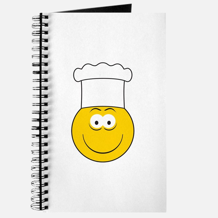 Chef/Cook Smiley Face Journal