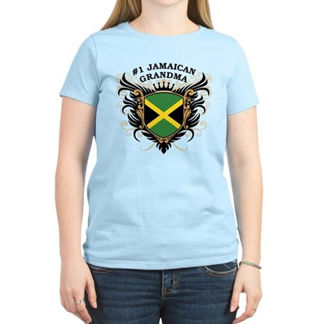 Number One Jamaican Grandma Women's Light T-Shirt