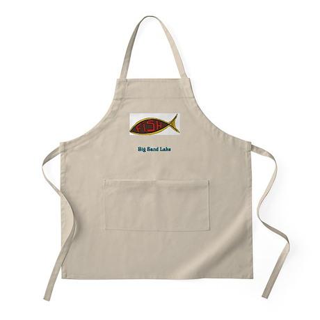 Fish in Fish BBQ Apron