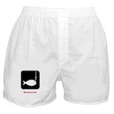 Fishing Sign Boxer Shorts