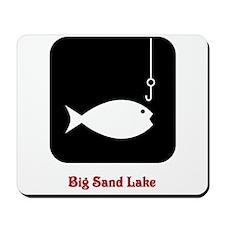 Fishing Sign Mousepad