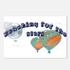 Ballooning space Postcards (Package of 8)
