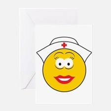 Nurse Smiley Face Greeting Card