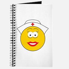 Nurse Smiley Face Journal