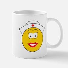 Nurse Smiley Face Mug