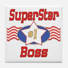 Superstar Boss Tile Coaster