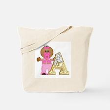 Baby Initials - A Tote Bag