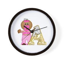 Baby Initials - A Wall Clock