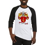 Garay Family Crest Baseball Jersey