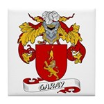Garay Family Crest Tile Coaster