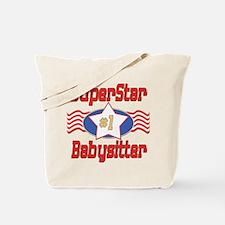 Superstar Babysitter Tote Bag