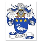 Garces Family Crest Small Poster