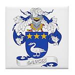 Garces Family Crest Tile Coaster