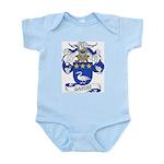 Garces Family Crest Infant Creeper