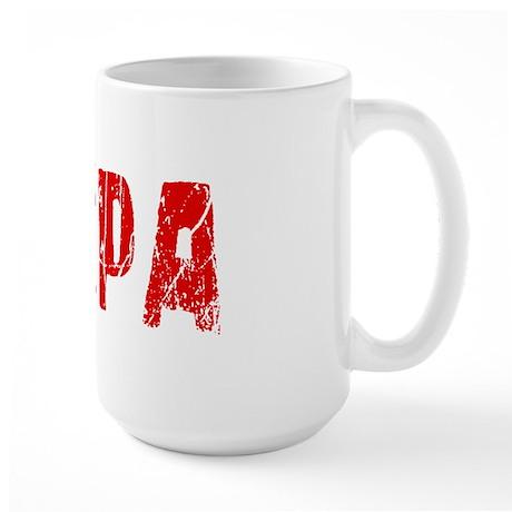 Tampa Faded (Red) Large Mug