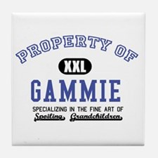 Property of Gammie Tile Coaster