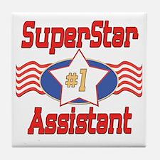 Superstar Assistant Tile Coaster