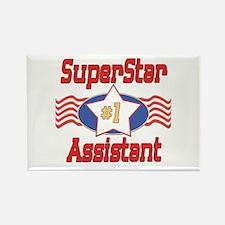 Superstar Assistant Rectangle Magnet