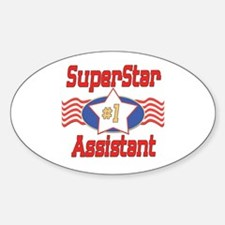 Superstar Assistant Oval Decal