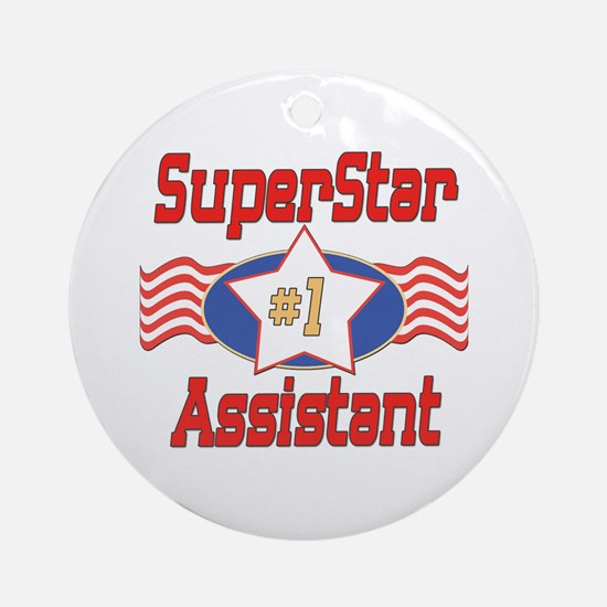 Superstar Assistant Ornament (Round)