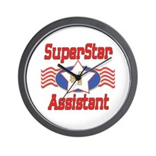 Superstar Assistant Wall Clock