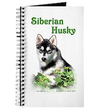 Siberian Husky Dog Journal