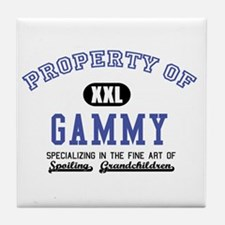 Property of Gammy Tile Coaster