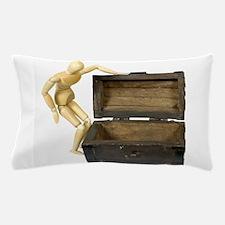 LookingInTrunk031910.png Pillow Case