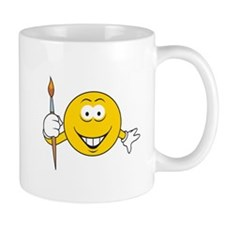 Artist/Painter Smiley Face Mug