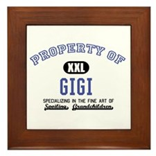 Property of Gigi Framed Tile