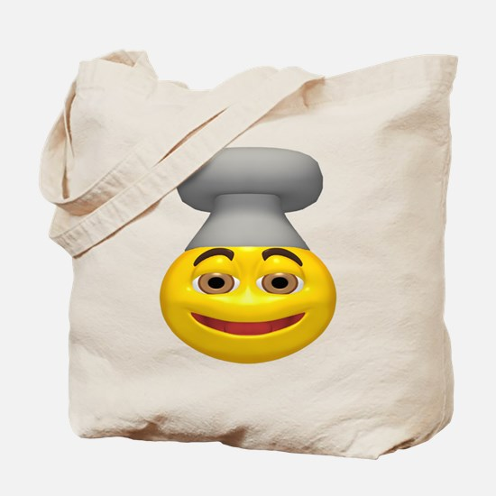Chef Hat Face Tote Bag