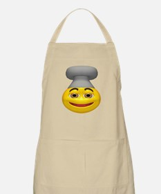 Chef Hat Face BBQ Apron