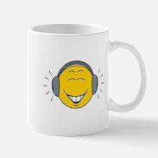 Dee Jay/Music Lover Smiley Face Mug