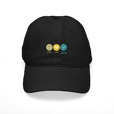 Peace Love Dental Assisting Baseball Hat
